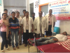 Blood donation by Allsec technologies employees