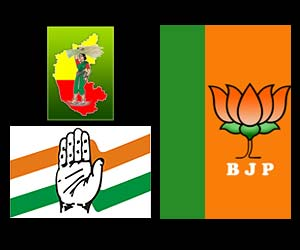 BJP,JDS & Congress