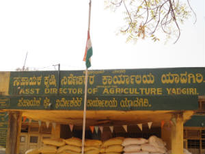 National flag insulted in Yadgir