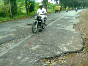 How is road condition in your area? Send pictures