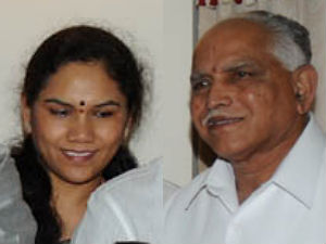 Aruna Devi and Yeddyurappa