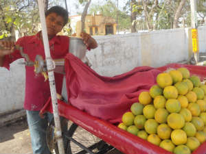 Lucknow juice to quench thirst of people