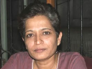 Gowri Lankesh (pic : kodursclicks.blogspot.in)