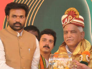 Sriramulu and Yeddyurappa