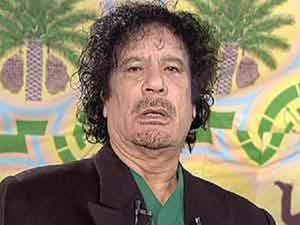 Gaddafi's assets Rs 7,600 crores seized