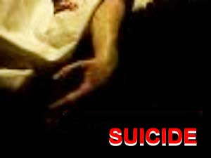 Husband Commits Suicide Bhadravati