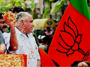 bjp-chief-eshwarappa-foreign-trip-bsy-reaction