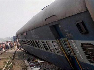 Hampi express collides with goods train