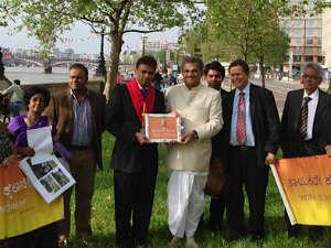 Tribute To Basaveshwara Veerendra Heggade London