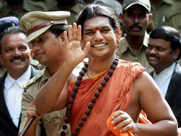 Another case filed against Nithyananda