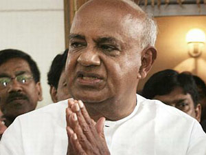 Deve gowda to support UPA candidate
