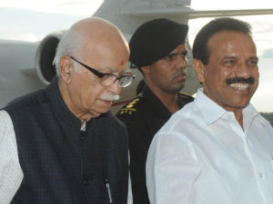 DV Sadananda Gowda and LK Advani