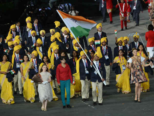 Mystery woman in Indian contingent at Opening Ceremony