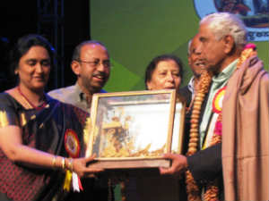 Dr. Ramaswamy felicitated