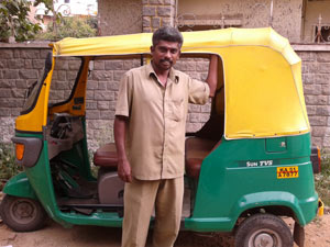 Auto drivers business less than normal days