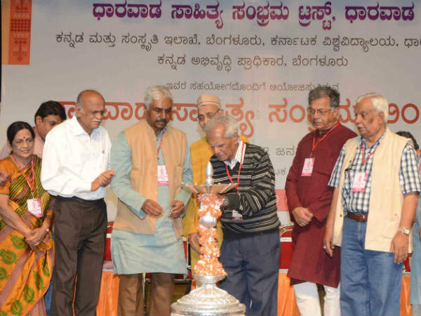 Indian writers lack sense of purpose : GS Amur in Dharwad