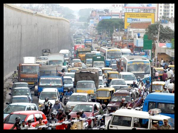 Bangalore 'sixth-most painful' in world for traffic congestion
