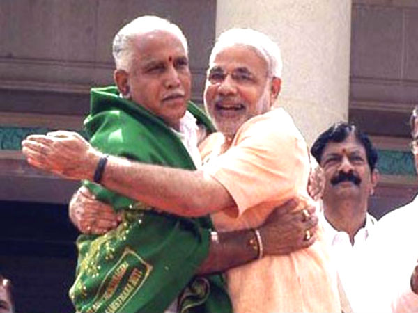 Karnataka Poll Modi Indebted To Yeddyurappa Congress