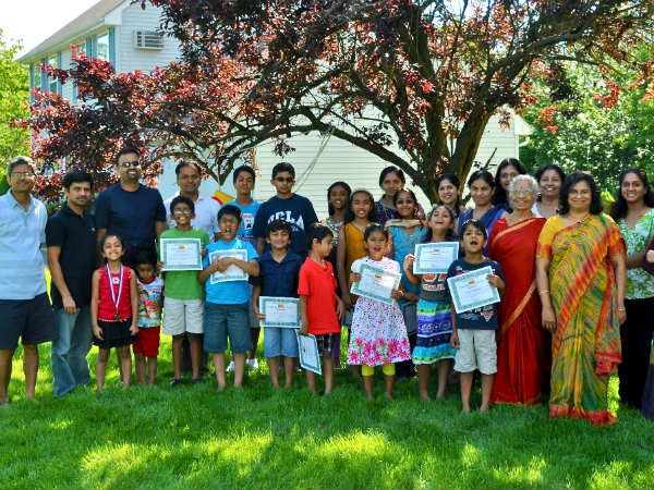 Kannada school in America completes 4 years