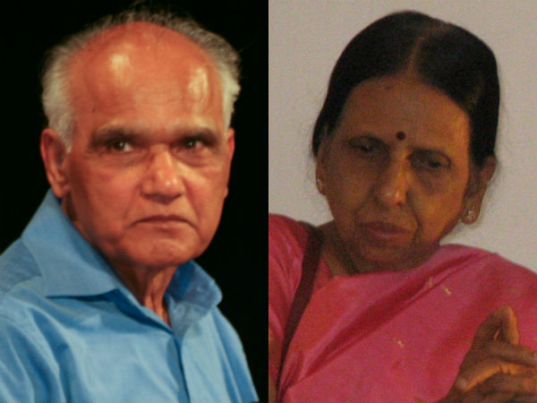 Award to SL Bhyrappa and BS Madhura in Mysore