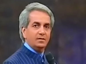 Protest against evangelist Benny Hinn in Bangalore
