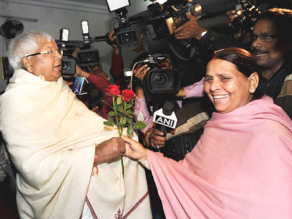 Lalu Prasad credits wife Rabri Devi for RSS dropping half-pants