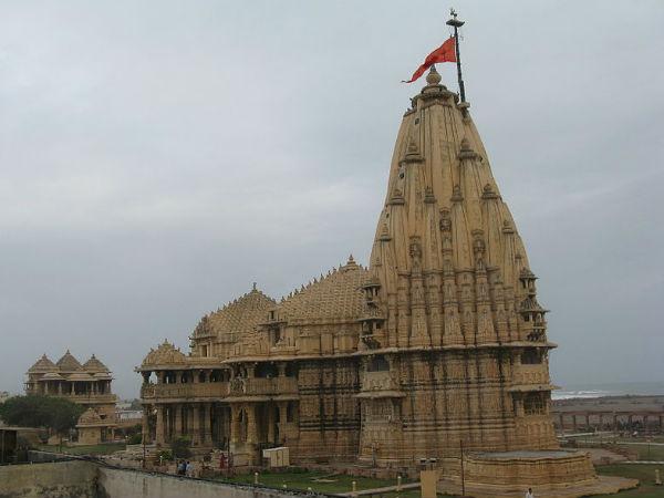 Shivaratri Somanatheshwara Temple Saurashtra