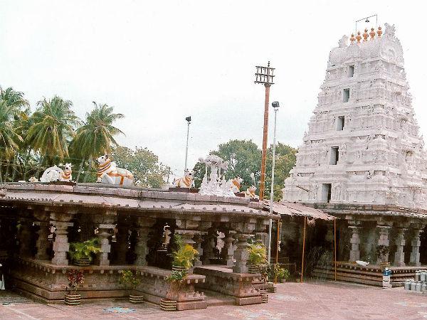 Shivaratri Mallikarjuna Temple Srisailam Andhra Pradesh