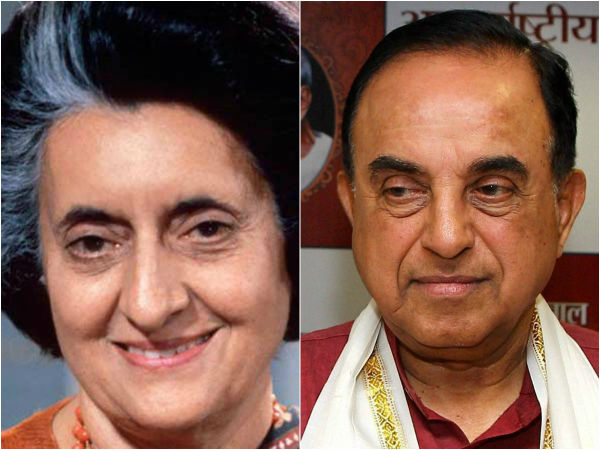 WikiLeaks says Subramanian Swamy informed US about Indira Gandhi's cancer