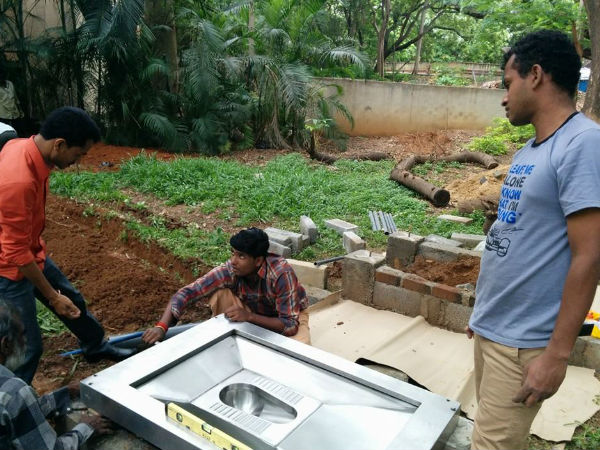 Bbmp E Toilets Are Getting Ready 086168 Pg