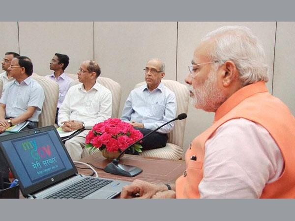 PM Modi launches portal for citizens to contribute in governance