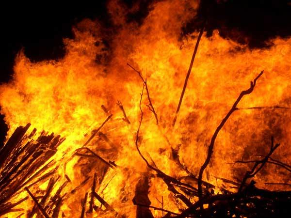House set on Fire when family was asleep in Manchanabele Village