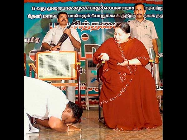 Who is O Panneerselvam
