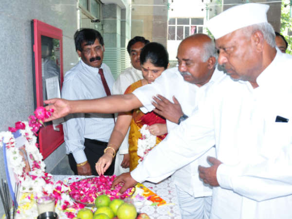 Tributes to senior Congressman VS Koujalagi - Balagavi