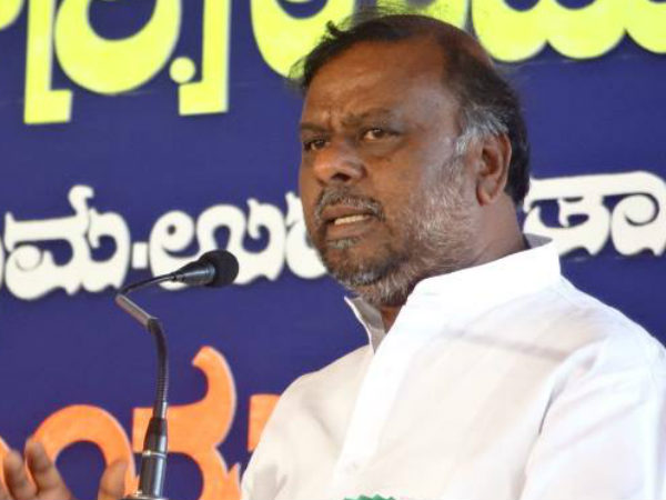Minister H Anjaneya on AKKA Sammelana Dalit Artists
