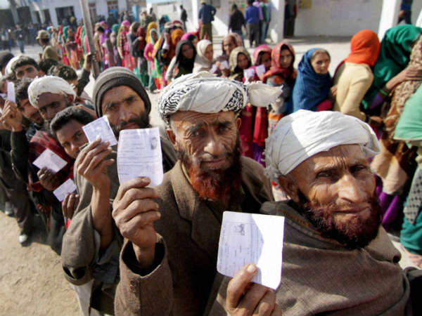 Exit poll : BJP to get majority in Jharkhand, hung assembly in J&K