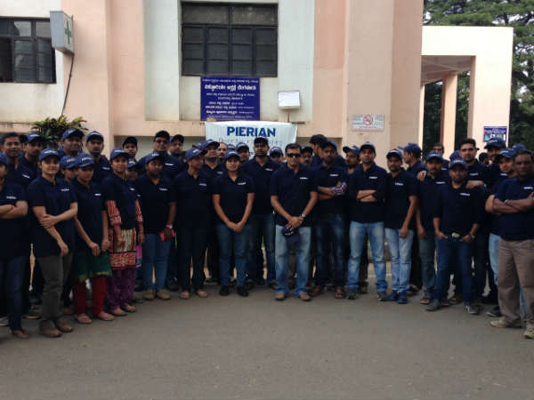 Pierian company cleans up Victoria hospital, Bengaluru