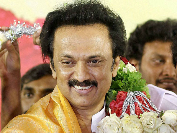 DMK elevates M K Stalin as its working president