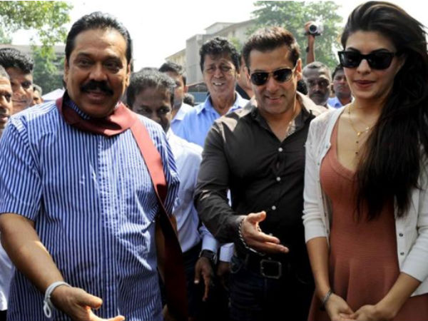 Tamil group protests outside Salman Khan's home over Rajapaksa support