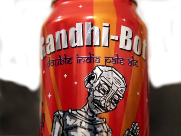 Gandhi's image on beer cans; U.S. company draws ire, apologises