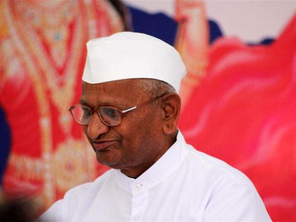 Activist Anna Hazare Visit Tumakuru Sri Siddaganga Mutt