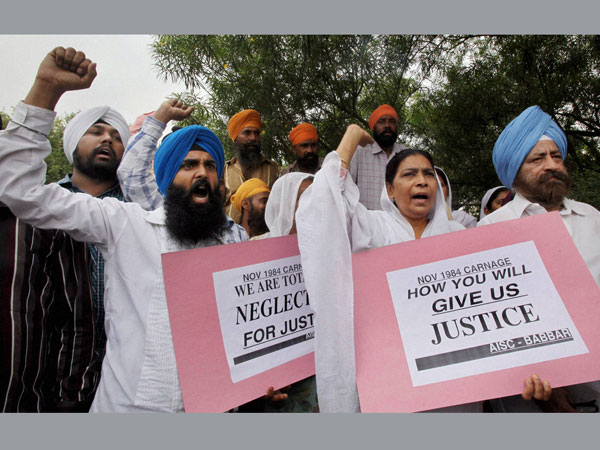 Centre Set Up Sit Probe 1984 Anti Sikh Riots