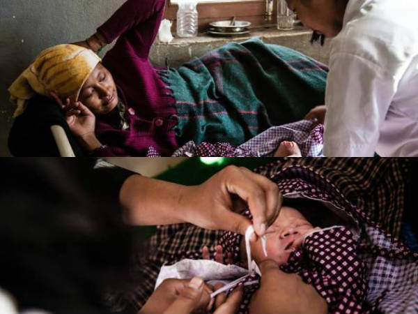 Nepal earthquake : Brave mother gives birth to healthy boy
