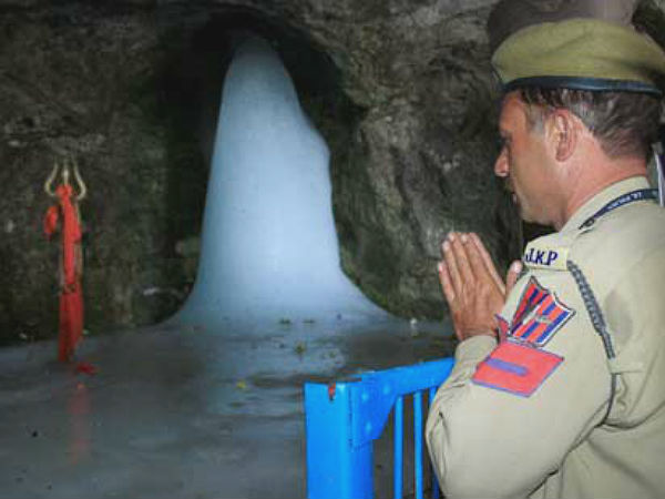 Amarnath Shiv lingam melts completely