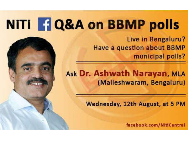 Ashwath Narayan will answer your queries on BBMP polls
