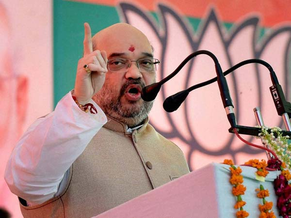 Amit Shah re-elected BJP president