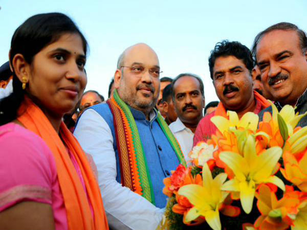 BJP National President Amit Shah to meets bbmp election winners in bengaluru