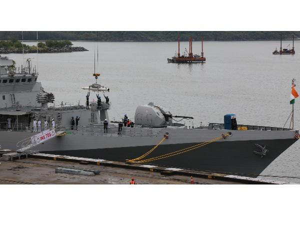Navy Commissions Weapon Storage Facility Ins Vajrakosh In Karwar