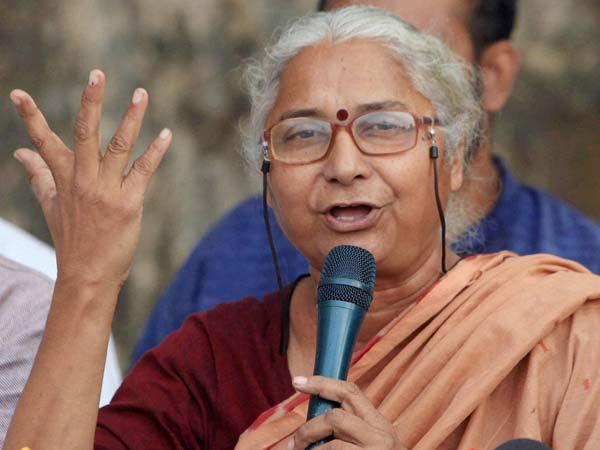 Medha Patkar Arrested Along With Associates Allahabad