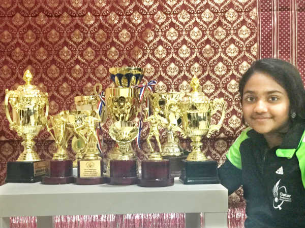Emerging Badminton player Udupi origin Neha shetty
